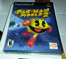 PAC MAN WORLD 2 SONY PS2 BLACK LABEL RETAIL GAME SEALED BRAND NEW PACMAN PAC-MAN