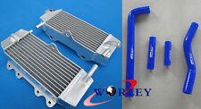 2002-2005 YAMAHA YZF250 YZ250F YZF 250 03 04 05 Aluminum radiator&silicone hose
