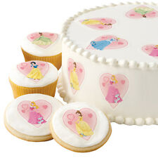 WILTON DISNEY PRINCESS DESSERT DESIGNS - EDIBLE CAKE & CUPCAKE DECORATIONS