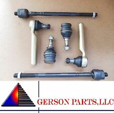 Inner & Outer Tie Rod Ends + 2 Lower Ball Joints SUBARU Outback Baja Legacy Susp