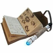 Doctor Who Journal Notebook + Sonic Screwdriver Replica