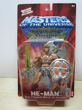200X HE MAN MOTU MASTERS OF UNIVERSE HE-MAN SDCC EXCLUSIVE 697/1000 HARD TO FIND