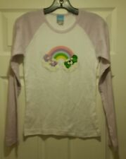 New Care Bears Good Luck Bear Share Bear Rainbow Youth Medium T-shirt 80s