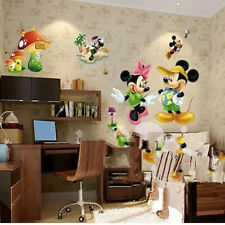 CUTE Mickey Mouse Hat Baby Palyroom Wall Sticker Art Vinyl Home Room Decor Decal