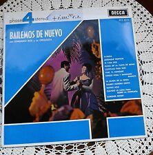 LP EDMUNDO ROS BAILEMOS DE NUEVO 1963 GRABADO EN LONDRES  DECCA