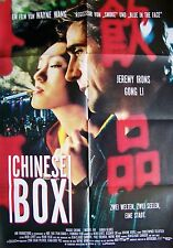 GONG LI + CHINESE BOX + JEREMY IRONS + MAGGIE CHEUNG + WAYNE WANG +
