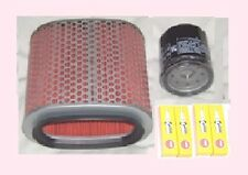 Plugs , Air filter & Oil filter for HONDA VT VT1100  Shadow models 1989 to 2007