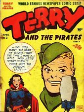 TERRY AND THE PIRATES GOLDEN AGE COMICS PDF ON CD