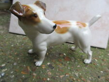 ELITE POTTERY LARGE FIGURE OF A JACK RUSSELL TERRIER DOG