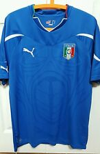 ITALY ITALIA PUMA OFFICIAL HOME FOOTBALL BNWT HOME SHIRT L Azzurri