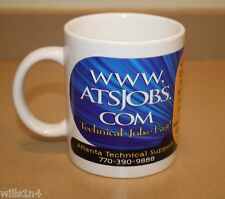 Coffee Cup Mug ATSJOBS.COM Atlanta Technical Support  B1