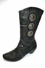 Think, Damen Schuhe Stiefel, Naturschuhe, Gr. 37,5, Shoes for women Neu
