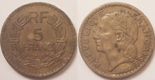 5 Francs Lavrilier en Cupro-alu, 1946 C Castelsarrasin, Assez rare !!