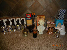 "Vintage Lot ""G"" @ 12 Avon After Shave  in Box Chess/Goose/Bell/Jefferson/Battery"