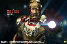 Hot Toys Iron Man 3 MK42 XLII Never Opened Factory Sealed Brand New Rare in UK