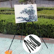 Folding Aluminium Alloy Artist Painting Easel Adjustable Tripod with Carry Bag