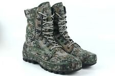 07's series China PLA Army Woodland Digital Camouflage Training Boots,C