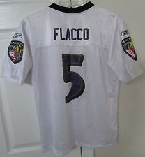 NFL Baltimore Ravens Joe Flacco #5 Replica Jersey by Reebok Team Youth Large (14