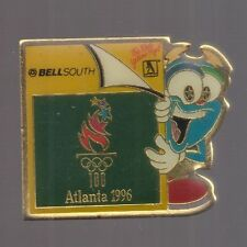 1996 Bellsouth Atlanta Olympic Pin Izzy Yellow Pages Mascot Bell South
