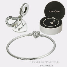 "Authentic Pandora Mother's Day Mother's Love Gift Set 2016 7.5"" USB796119  L.E."