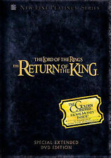 The Lord of the Rings: The Return of the King (DVD, 2007, Extended Edition...