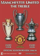 Manchester United: The Treble [Region 4] - DVD - New - Free Shipping.