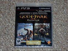 God of War Collection Playstation 3 PS3 Brand New Factory Sealed Black Label