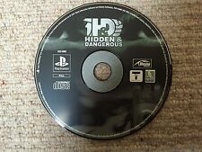 Hidden & Dangerous - Sony Playstation PS1 DISK ONLY UK PAL