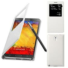 For Samsung Galaxy Note 3 N9000 Genuine S-view Window Flip Leather Case Cover