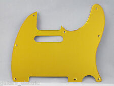 MIRROR GOLD SCRATCH PLATE Pickguard to fit USA/Mex TELECASTER Tele