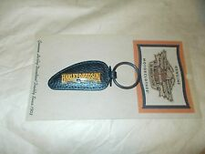 HARLEY DAVIDSON NEW OLD STOCK RARE  STYLE GAS TANK KEY CHAIN 1996 MINT ON CARD