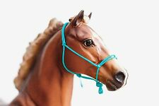 Turquoise Traditional Breyer/Peter Stone Model Horse Rope Halter