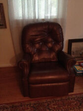 Leather Rocker Chair Recliner