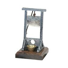 Medieval Machine Execution Guillotine Desk Executive Toy