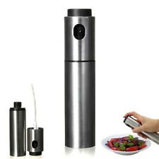 Oil and Vinegar Sprayer Stainless Steel Bottle Olive Oil Mist Spray Bottle