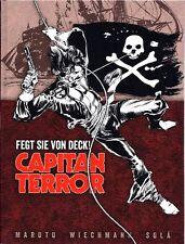 CAPITAN TERROR VZA Luxusausgabe 1,2,3+4 HARDCOVER lim.99 ESTEBAN MAROTO Captain