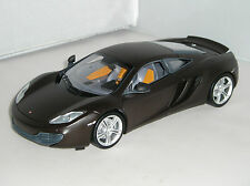 110133021 Minichamps McLaren MP4-12C 2011 Matt Black Limited Edition Car 1:18
