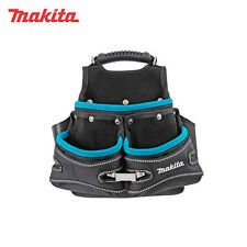 Genuine Makita Electricians Belt Attachable 3 Pockets Fixings Pouch Tool Bag