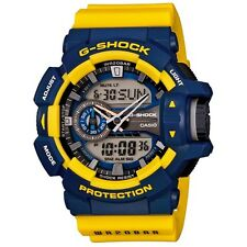 CASIO G-SHOCK MENS WATCH GA-400-9B FREE EXPRESS BLUE/YELLOW GA-400-9BDR DIGITAL
