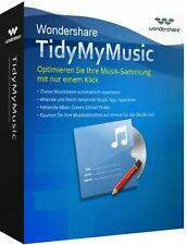 Wondershare TidyMyMusic Windows dt.Vollvers. ESD Download !