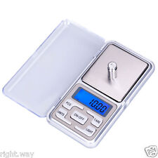 Mini Pocket Calibration 500g x 0.1g Digital Scale Jewelry Gold Balance Weight