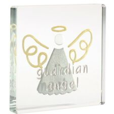 Spaceform Miniatura Vidrio Token Guardian Angel Ornamento Actual Caja De Regalo 1806