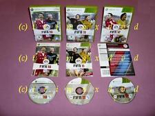 3x XBox360 _ FIFA 10 & FIFA 11 & FIFA 12 _ Erstausgaben sehr guter Zustand