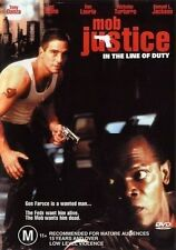 IN THE LINE OF JUSTICE - MOB JUSTICE Tony Danza DVD  R4