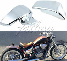 Chrome Battery Cover Side For Honda VT 600 Shadow VLX Deluxe Steed 600 400VLS