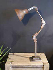 Vintage Industrial Anglepoise Machinist Style Desk Light Retro Lamp Shabby Chic