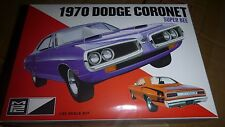 MPC 1970 DODGE CORONET SUPER BEE 1/25 Model Car Mountain FS 2n1 RETRO NEW! 869