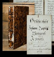 1826 Neunkirchen am Brand Franken Oberfranken Nützel Wernert Manuskript