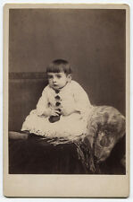 CABINET CARD CHILD WITH BIG BEAUTIFUL EYES. SAN FRANCISCO, CALIFORNIA.