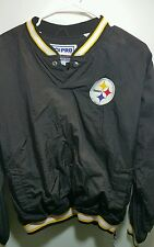 Starter NFL Pittsburgh Steelers pullover jacket shirt size youth large black